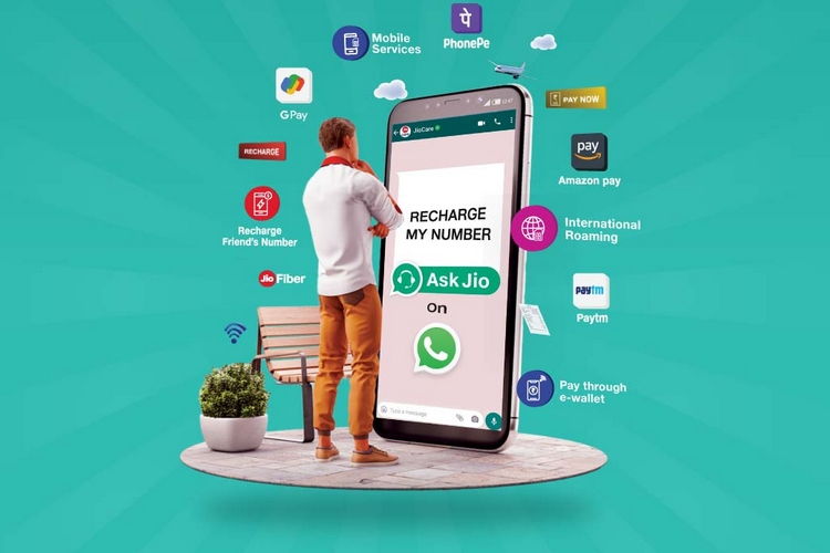 How to Recharge Your Jio Number Using JioCare WhatsApp Chatbot
