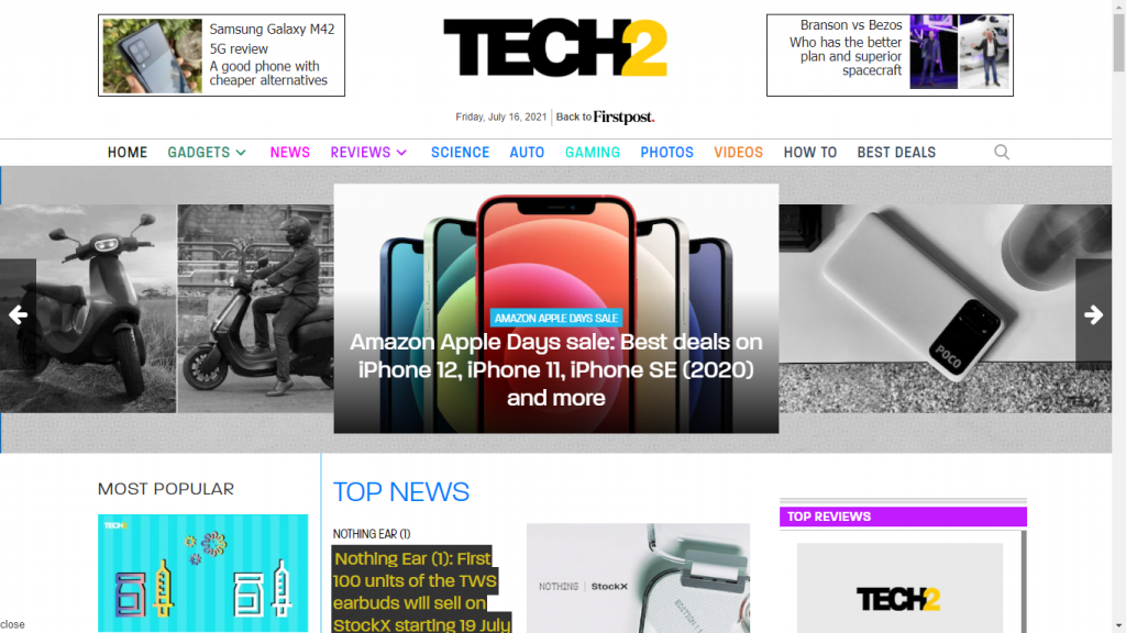 The Top 10 Tech Websites for 2021
